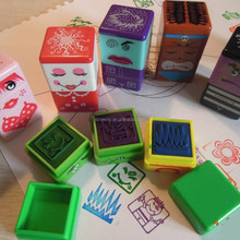 2015 Hot Sale High Quality Cute Self-inking Teacher Collection 3-IN-1 Stamp Praise Reward Stampers Motivation Sticker School