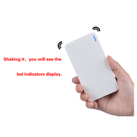 Z-406 Zooming 2014 New power bank with multiple sub units external portable mobile power bank