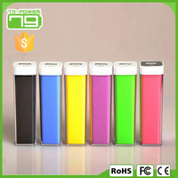 Professional factory for mobile 2200 mah power bank with custom