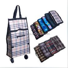 alibaba online shopping cheap wholesale foldable trolley shopping bag