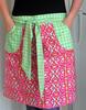 Wholesale cheap cooking cotton kitchen waist apron