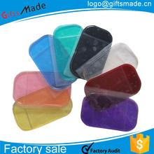 pu Car Sticky Pad/Mobile phone anti-slip mat/silicone car non-slip sticky Mat