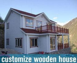 close side 2014residential prefabricated wooden house price