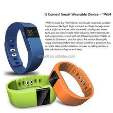 silicone waterproof bluetooth smart bracelet watch health sleep monitoring smart bracelet heart rate of sport online shopping