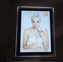 crystal led backlit display frame 250x250, led picture frame