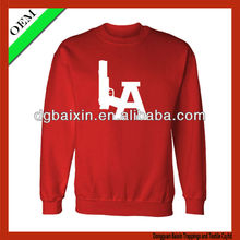 Men's sports long sleeve t-shirt with single pattern,provided by china supplier