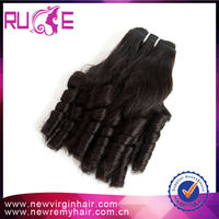 """12"""" 5A grade romance curl raw unprocessed indian remy hair for sale"""