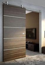 Promotional wooden sliding door buy wooden sliding door for Ikea barn door hardware