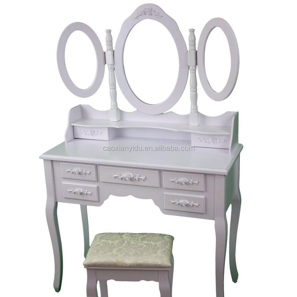 Slaapkamer Kaptafel met 3 beweegbare spiegels/Schminktisch mit ...
