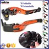 BJ-LS-001-F16/KL CNC foldable extandable motorcycle brake clutch lever for KTM DUKE 390