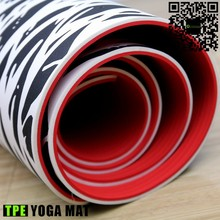173*61cm thick unique embossed tpe yoga mat