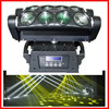WLED 1-13 New 8 pcs 4 IN 1 RGBW (WHITE) 10w dmx stage lighting controller 1024