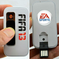 Silfa new invented products rechargeable USB lighter match with 4GB capacity