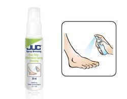 High quality Antimicrobial and anti-itching feet spray