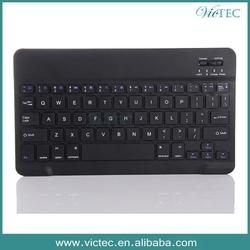 7/10 inch Universal Tablet Aluminum Alloy Wiredrawing Mini Bluetooth Keyboard