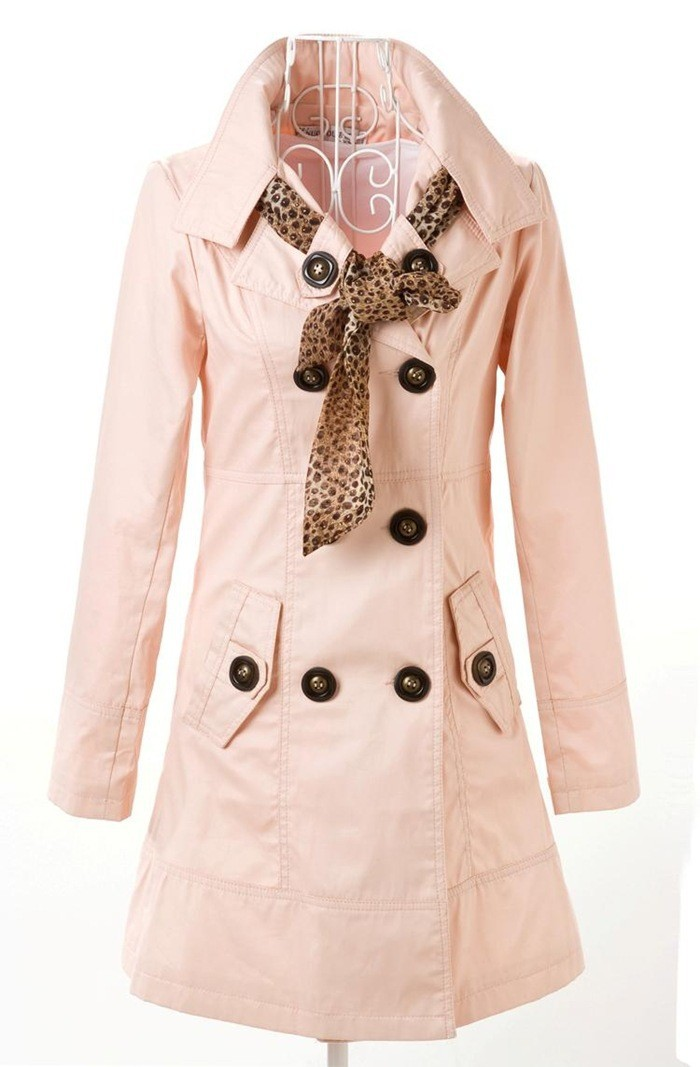 Женский тренч 2014 New Plus Size Women Trench Women's Coat NALULA Slim & AS1222 Fashion Slim Long Design Coat Spring&Autumn