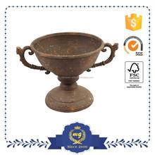 garden mini metal flower pot