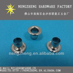 nickle-free garment eyelet brass eyelets 5mm eyelet