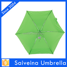 green mini folding convenient to carry 19 inches 6 k 5 folding pocket umbrella