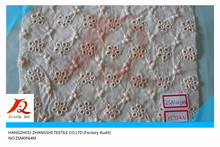 cotton voile fabric, Cotton eyelet embroidery lace for children's garments