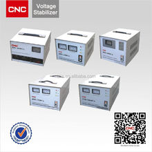 CNC brand Single Phase Automatic Voltage Stabilizer (SVC)auto voltage stabilizer 220v