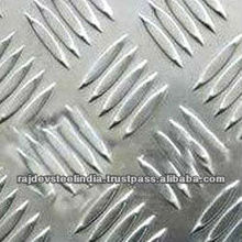 High quality Stair Checker Plate (Pattern Type: Diamonds, 5 bars, T pattern)