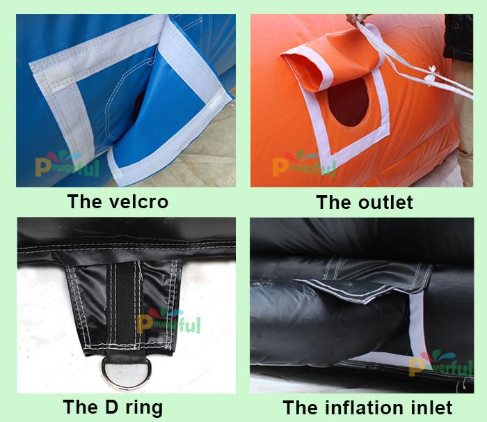 haute quanlity 0 9 g ant sac gonflable gonflable grand coussin d 39 air pour sauter. Black Bedroom Furniture Sets. Home Design Ideas