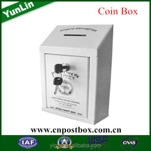 easy and simple to handle coin boxes