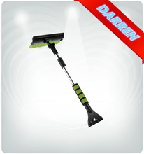 3 in 1 Car Shovel Ice Scraper with Car Cleaning Brush and Glass Wiper