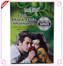 Hair Black Shampoo Hair Dye Shampoo/Hair Darkening Shampoo Sachets