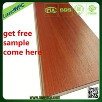 absence of crack, twist, warping and deformation wpc vinyl plastic pvc flooring wood look