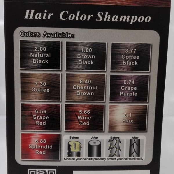 Dexe Hair Coloring Hair Color Change Shampoo Private Label - Buy ...