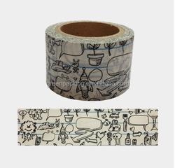 Greenpacking 2015 waterproof japanese custom printed washi tape pp24 washi paper tape