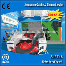 Competitive Entry level Wave jet boat --CE approved