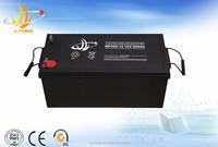 12v 200ah AGM deep cycle lead acid battery with long life