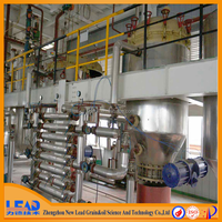 16 years experience hot sale cheap rice bran oil refinery machine with ISO