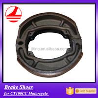 China factory CT 100CC motorbike brake shoes aluminum part