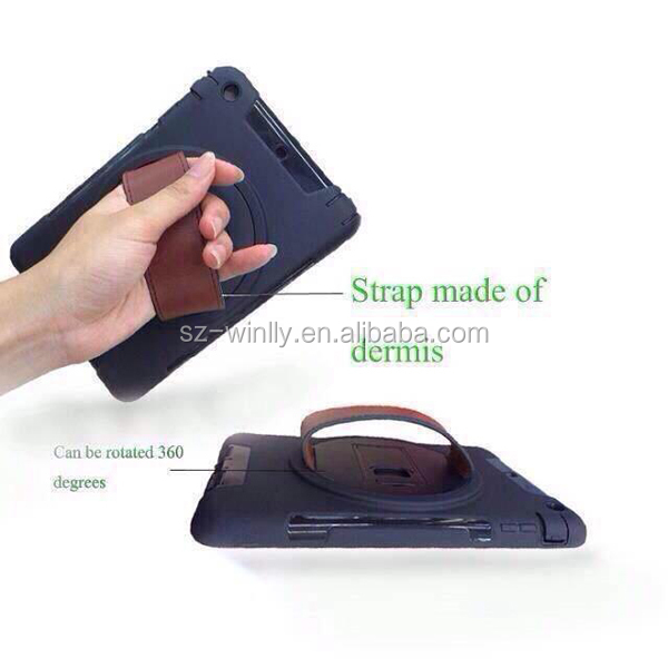 For ipad case 360 degree rotating