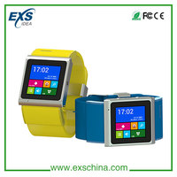 Learher belt small size watch mobile phone
