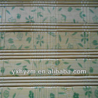 printed bamboo blinds/popular in USA/semi-finished FOB price is USD2.5/pretty and fresh