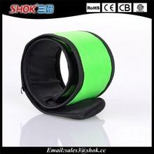 new products alibaba china Colorful nylon led bracelet ,customized armband,led bracelet