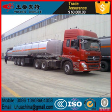 Alloy/ Aluminum Oil/Fuel Tanker (Cylindrical-Type Tank) truck