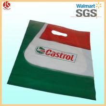 Plastic bags oil/gas/petrol products industry die cut bags