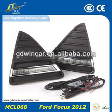 Super White Serviceable Car Accessory LED Daytime Running Light/ Auto Daylights For Ford Focusi 2012