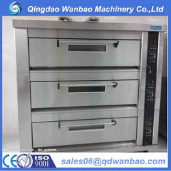 Energy Saving Luxury series 2 deck commercial steam oven with good price