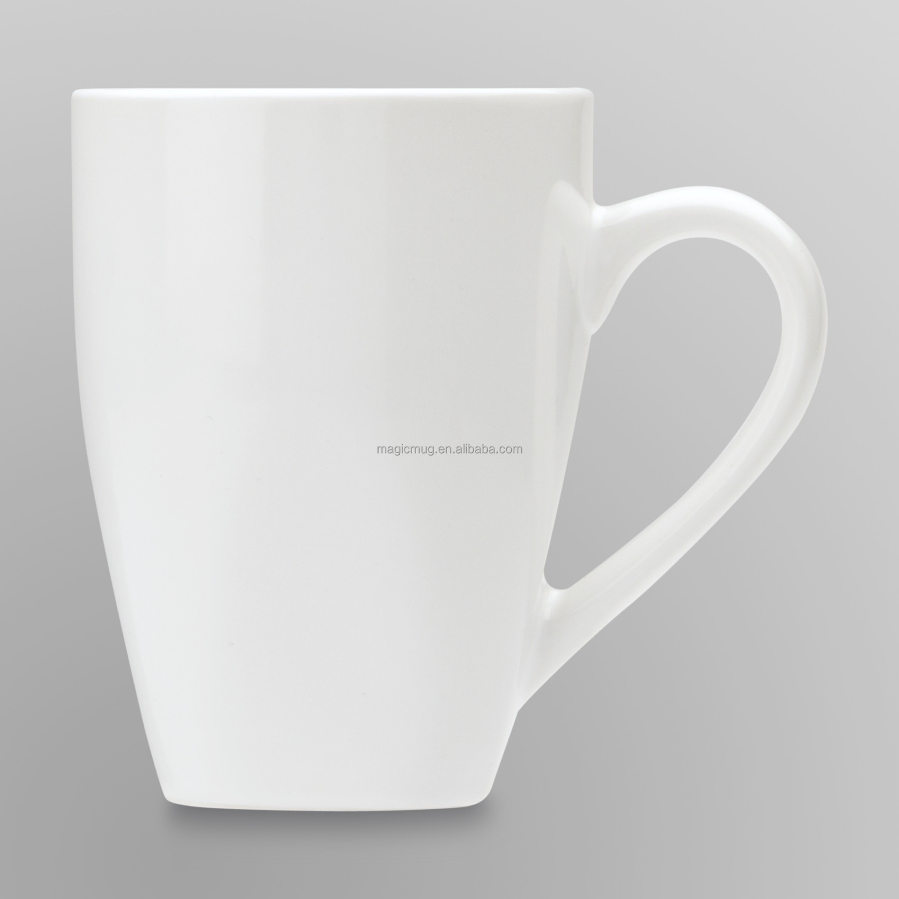 Bulk Household Items Ceramic Cheap Plain White Coffee Mug