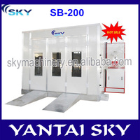 alibaba express china booth car painting/car spray booth price/car painting equipment