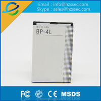 China aaa quality lithium mobile battery for Nokia BP-4L