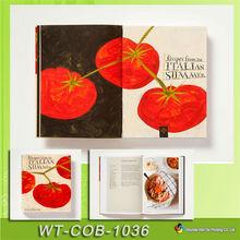 WT-COB-1036 impresión de libro de cocina