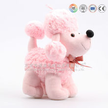 Customized colour and style lovely dog plush toy